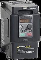 Преобразователь частоты CONTROL-L620 380В. 3Ф. 1,5-2.2 KW. 4-6 А. ИЕК