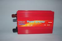 Автомобильный инвертор, преобразователь напряжения Lai Run 12/220 2500w, фото 1