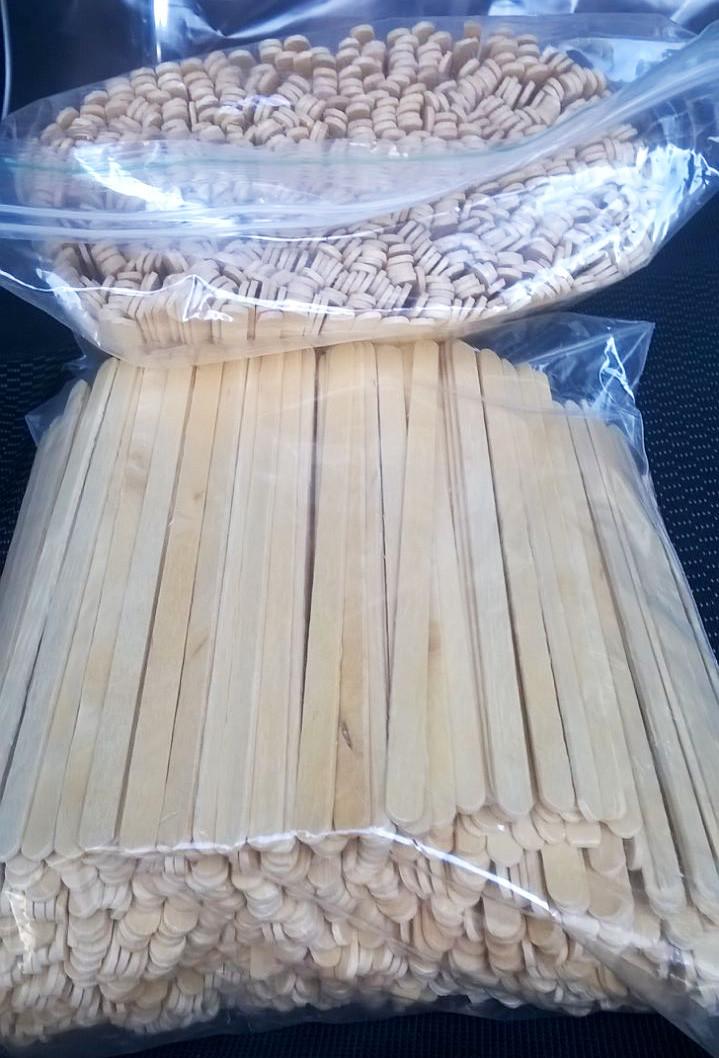 Палочка мешалка деревянная «ЛЮКС»