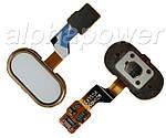 Кнопка сенсорная для смартфона Meizu M3s золотой