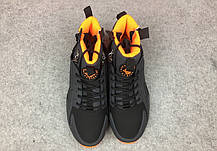 """Зимние кроссовки Nike Huarache Winter Acronym """"Black/Orange"""" (Черные/Оранжевые), фото 3"""