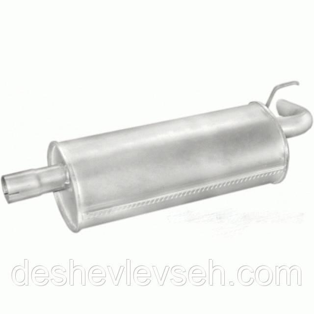 Глушник ВАЗ-2123 нерж. (11.33), 2123-1201010 (POLMO Польща)