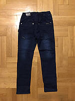 Джинсовые брюки на флисе для мальчиков оптом, Grace, 116-146 рр., арт. B82686, фото 4