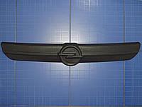 Заглушка решётки радиатора Опель Виваро верх 2001-2006 матовая Fly. Утеплитель решётки радиатора Opel Vivaro