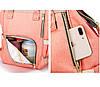 Рюкзак-органайзер для мам и детских принадлежностей светло-серый, фото 6