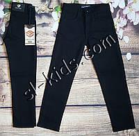 Штаны,джинсы на флисе для мальчика 11-15 лет (Kabay) (черные) розн пр.Турция