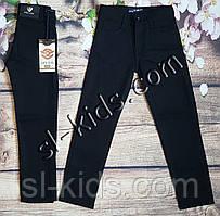 Штаны,джинсы на флисе для мальчика 6-10 лет (Kabay) (черные) розн пр.Турция