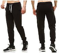 Штаны мужские спортивные на манжете 403 (48 50 52 54) (цвет черный) СП