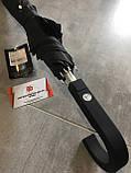 Зонт-трость Mercedes-Benz Collektion Stick Umbrella Black, B66952629. Оригинал. Черного цвета., фото 3