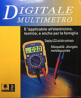Мультиметр цифровой с дисплеем 830LN
