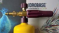Пенная насадка Idrobase POM в сборе под Shtile, Nilfisk, old Lavor с жёлтой бутылкой
