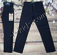 Штани,джинси на флісі для хлопчика 6-10 років опт (Kabay) (темно сині) пр. Туреччина, фото 1