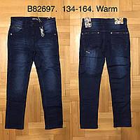 Джинсовые брюки на флисе для мальчиков оптом, Grace, 134-164 рр., арт. B82697, фото 1