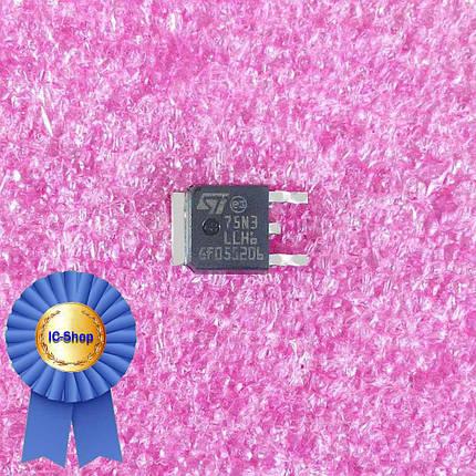 Микросхема STD75N3LLH6 ( 75N3 ), фото 2