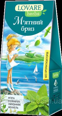 Чай Lovare / Ловаре Мятный бриз, 20 пирамидок