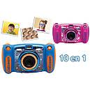 Детский фотоаппарат Vtech Kidizoom Camera DUO 5.0 Pink с видео записью, фото 5
