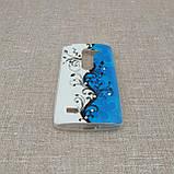 Чехол TPU Diamond LG leon Y50, фото 5