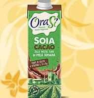 Соєве молоко, OraSi, какао, 1л