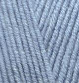 Пряжа для вязания Лана голд цвет 221 св. джинс