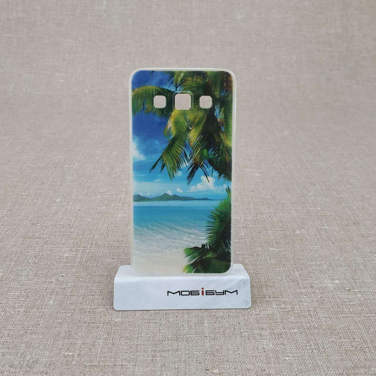 Чехол Silicon Foto Samsung G7102 sunset Для телефона Grand II