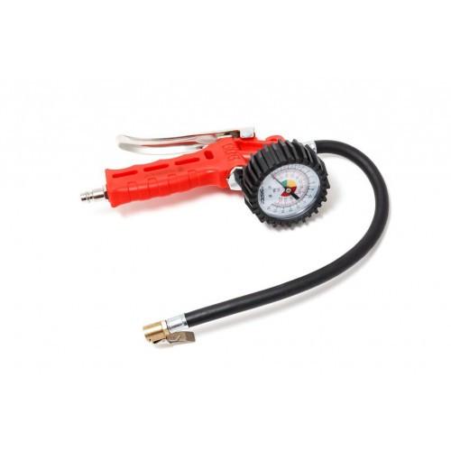 Пистолет для подкачки шин с манометром и шлангом (0-16Bar)