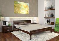 Кровать деревянная Роял из натурального дерева двуспальная, фото 1
