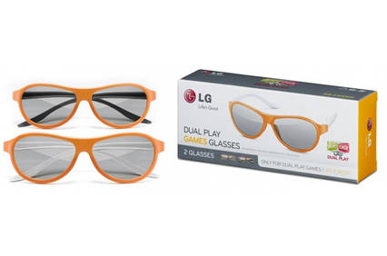3D очки LG Dual Play AG-F310 DP для телевизоров LG, фото 2