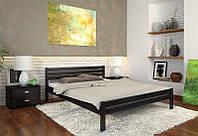 Кровать деревянная Роял из натурального дерева полуторная, фото 1