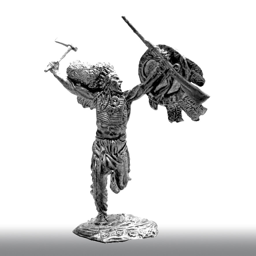 Дикий Запад. Боевой вождь сиу, XІХ век