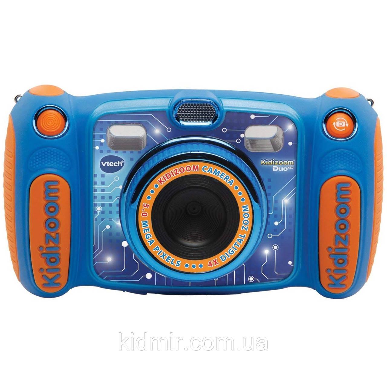 Дитячий фотоапарат Vtech Kidizoom Camera DUO 5.0 Blue відео з записом