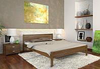 Кровать деревянная Роял из натурального дерева, фото 1