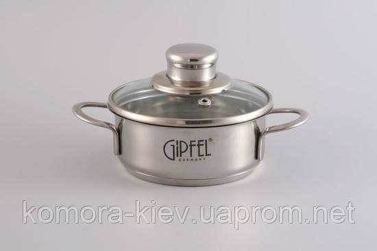 Кастрюля GIPFEL MINI 1202 - Komora-kiev в Киеве