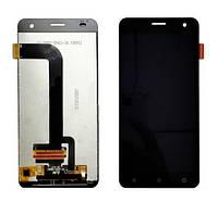 Дисплей экран Nomi i504 Dream с тачскрином, сенсором, черный