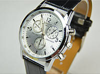 Мужские часы TISSOT PRC200 (копия) с белым циферблатом, фото 1