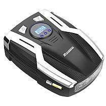 ★ Компрессор автомобильный RUNDONG AC-980 с LED дисплеем от прикуривателя, фото 2