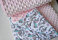 Детский плюшевый плед Пони, в кроватку и коляску