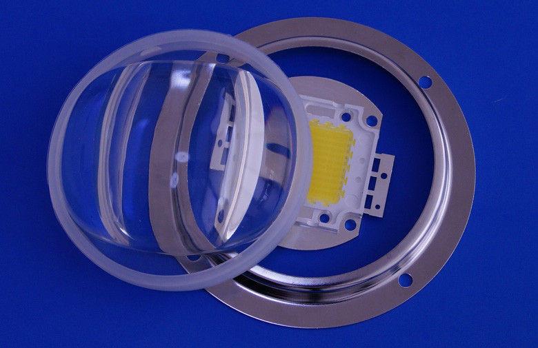 Лінза світлодіодної матриці LED Lens 20-120W 70°-150° коліматор