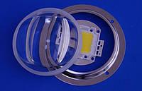 Лінза світлодіодної матриці LED Lens 20-120W 70°-150° коліматор, фото 1