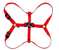 Шлея нейлоновая Collar Dog Extreme красная