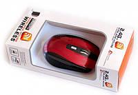 Беспроводная оптическая мышка мышь G 109 Red, фото 1