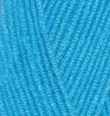 Пряжа для вязания Лана голд 245 бирюзовый