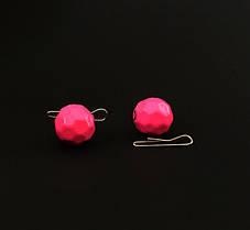 """Люминесцентный розовый граненый груз """"FISHBALL"""""""