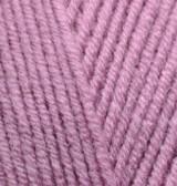 Пряжа для вязания Лана голд 28 пепельная роза