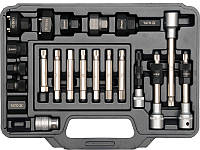 Набор инструмента для ремонта автомобильных генераторов YATO, 22пр.