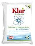 Соль для посудомоечных машин KLAR, 2 кг.