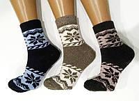 """Шерстяные женские носки с махрой  """"Стиль люкс"""""""