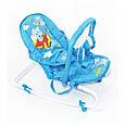 Детский шезлонг качалка BT-BB-0001 (голубой), фото 2