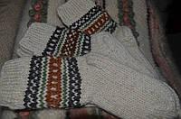 Шерстяние носки