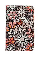 10 дюймовый чехол книжка для планшетов в цветочек