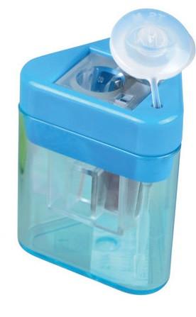 Точилка Kum с контейнером Mini-Tri  пластиковая 14918Mini-Tri K1 Pop
